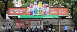 Beverage Branding at BQS – Beat the Delhi Heat