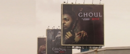 'Ghoul' screams horror on OOH