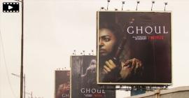 'Ghoul' screams horror on OOH