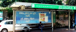 Govardhan Milk makes a health statement on JCDecaux Citylights network