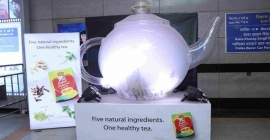 HUL's Red Label Tea brewing spectacularly