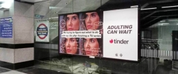 Tinder's new dating tip: 'Adulting can wait!'