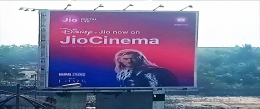 Jio Cinema brings alive iconic Disney characters on OOH