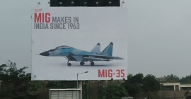 MiG flies high on OOH with fighter planes