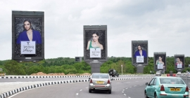 Tanishq's new diamond collection glitters on OOH