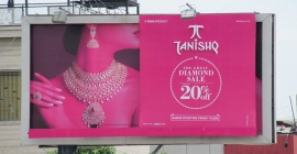 OMI gets TANISHQ's 'Great Diamond Sale' sizzle on OOH
