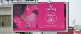 OMI gets TANISHQ's 'Great Diamond Sale' sizzle on OOH