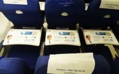 Sensodyne message reaches IndiGo passengers