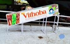 Vithoba OOH campaign at foodmalls