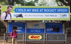 Quikr builds a brand narrative on OOH