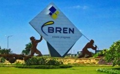JCDecaux's 3D installation for BREN Corp at KIAB