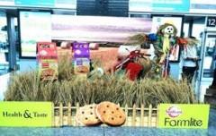 Sunfeast creates mini farmland at Bengaluru airport