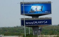 Laqshya Airport Media goes big with Samsung S5 at Hyderabad airport
