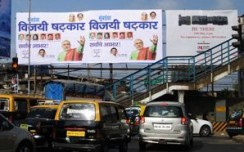Bright Outdoor rolls out BJP-Shiv Sena campaign post poll results