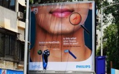 Posterscope India showcases Philips''Aqua Touch' in 7 cities