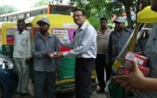 MTS travels around Delhi with auto branding