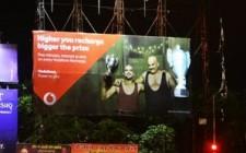 Vodafone showcases winning spirit on OOH