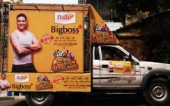 Dollar creates 360 degree outdoor during Durga Puja