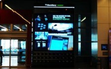 Blackberry flies high at airports