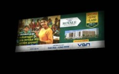 VGN Developers goes outdoor in Chennai to showcase new project