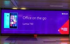 Microsoft Lumia 730 grabs attention through OOH
