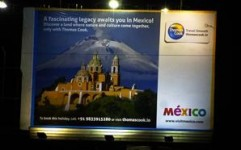 Thomas Cook goes outdoor to promote Mexico Tourism
