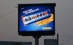Urzza makes an energetic presence on Kolkata's OOH landscape