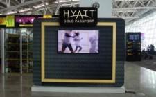 Hyatt reinforces brand identity through outdoor