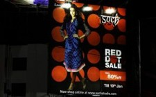 Dot on time -  Soch goes outdoor to drive end-of-season sale
