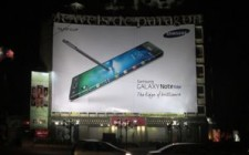 Samsung's creates big impact through OOH