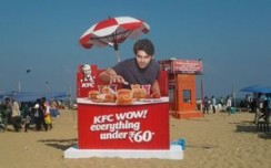 KFC creates an appetising OOH campaign