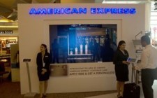 American Express promotes Jet Airways corporate card at Delhi airport