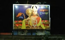 Sony TV creates huge OOH presence for'Mahabali Hanuman'