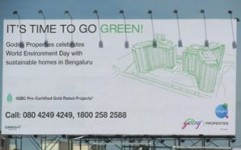 Godrej Properties makes a green statement in the outdoor