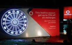 Vodafone makes a mark with catchy outdoor innovations at Rath Yatra, Puri