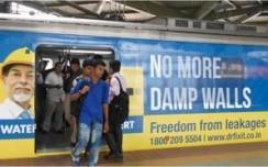 Dr. Fixit wraps Mumbai Metro to promote'Freedom from Leakage'