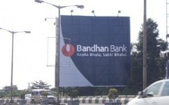 Bandhan Bank turns Kolkata to a blue city for their launch