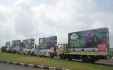 Cougar Motorsport takes the OOH route to promote RFC India