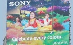 Sony Bravia taps pre-Diwali market in UP through OOH