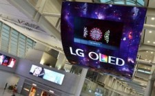 LG Electronics unveils world's largest OLED display at Korea's Incheon Airport