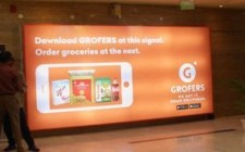 Grofers' vibrant campaign takes over tier-II cities