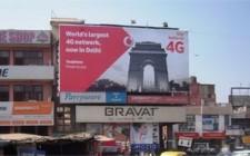 Vodafone's high decibel 4G brand activation in Delhi and Mumbai
