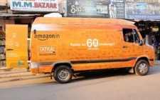 Amazon connects with vendors & sellers via branded mobile vans