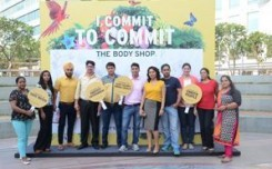 The Body Shop engages with  customers at Cyber Hub, Gurgaon