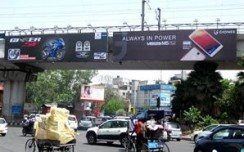 Gionee Mobiles get charged up on billboards