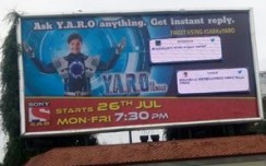 Sony SAB TV show brings twitter to OOH