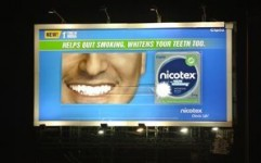 Kinetic India drives Nicotex's quit smoking OOH campaign