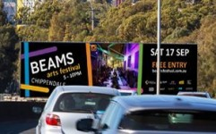 BEAMS Arts Festival extends beyond Chippendale, Sydney with dynamic DOOH