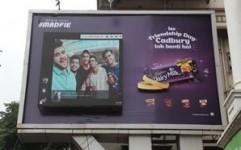 Cadbury Dairy Milk's digital OOH initiative goes viral on Friendship Day