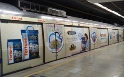 Adani Wilmar's Fortune covers length & breath of Delhi NCR on Delhi Metro